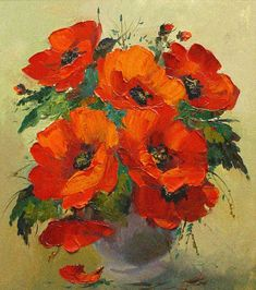 Shop for Poppies' Gallery-wrapped Canvas Art. Get free delivery On EVERYTHING* Overstock - Your Online Art Gallery Store! Art Floral, Canvas Wall Art, Canvas Prints, Art Prints, Framed Prints, Watercolor Flowers, Watercolor Paintings, Poppy Field Painting, Poppy Flower Painting