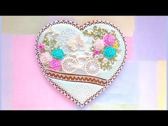 """How to decorate cookie with edible lace. """"Enjoy the Ride"""" cookie. - YouTube"""