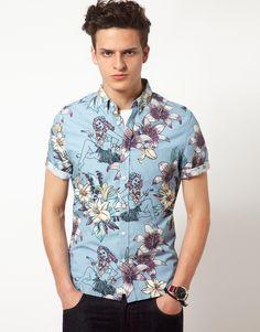 ASOS Hawaiin Print Shirt by ASOS