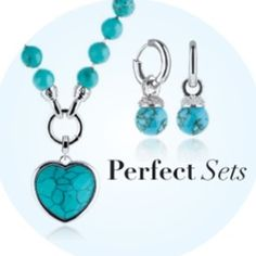 Beautiful Turquoise!!  Necklace with Pendant $254AUD on Sale Earrings $115AUD