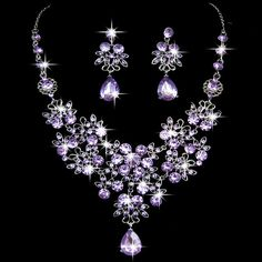 Engagement & Wedding Jewelry & Watches Fine Necklace Bow Rhinestone Bridal Jewelry Vivid And Great In Style