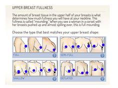 Boob shapes and fullness