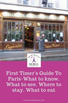 The Ultimate First Timer's Guide To Paris ⋆ Paris travel. What to see in Paris Paris Travel Tips, Travel Books, Travel Ideas, Travel Journals, Travel Guide, Taxi Moto, Paris Hotels, Tour Eiffel, France Travel