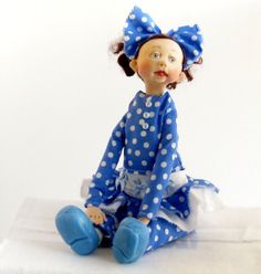Ooak Art Doll  Baby Toddler  Owen by DOLLSBYFRANCINE on Etsy, $75.00