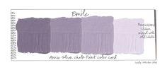 stylish patina, chalk paint, annie sloan, buy chalk paint online www.stylishpatinashop.com Color Palettes: Color Swatches