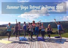 Summer Yoga Retreat in Devon 2017 Recap — Jayne Becca Yoga