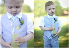 Page Boy   Styled Country Club Wedding by dani Fine Photography