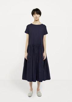 Shop Gathered Waist Dress from Casey Casey at La Garçonne. La Garçonne offers curated designer goods from luxury and emerging designers.
