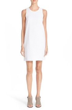 RAG & BONE 'Evie' Honeycomb Textured Shift Dress. #ragbone #cloth #