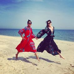 vyshyvanka, traditional Ukrainian costume, dress of summer 2015 (dresses by Vita Kin) Anna Dello Russo, Leandra Medine, Ukrainian Dress, 257, Giovanna Battaglia, Teen Vogue, Great Friends, World Of Fashion, Dress Making