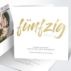 Die 21 Besten Bilder Von Einladung Goldene Hochzeit
