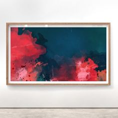 submerge : abstract art by Lindsay Blamey