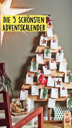 Diy Weihnachten, Advent Calendar, Christmas Diy, Holiday Decor, Home Decor, Recipes, Noel, Advent Season, Christmas Tree Decorations