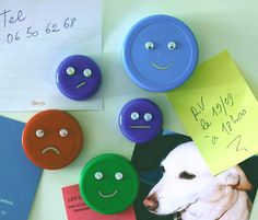 Make your own magnets, with jar or bottle caps. you can't go wrong with googly eyes =]