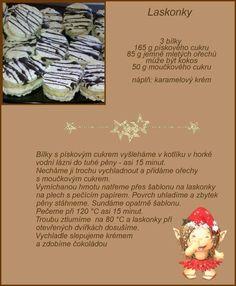 Christmas Sweets, Christmas Candy, Christmas Baking, Christmas Cookies, Slovakian Food, Czech Recipes, Sweet Recipes, Baking Recipes, Deserts