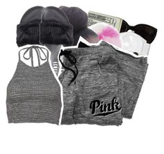 """"""""""" by loyalnene ❤ liked on Polyvore featuring Puma and Victoria's Secret"""