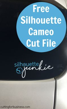Free Silhouette Junkie Cut File for Cameo - by cuttingforbusiness.com