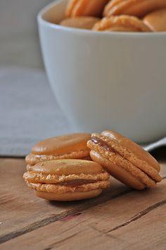caramel macaroons!