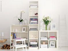 En skyline av bokhyllor | Redaktionen | inspiration från IKEA