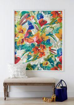 Canvas Art Projects, Easy Canvas Art, Diy Art Projects, Diy Canvas, Canvas Wall Art, Blank Canvas, Kitchen Canvas Art, Painted Canvas, Cheap Wall Art