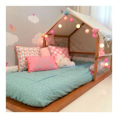 Cute extra bed for playroom