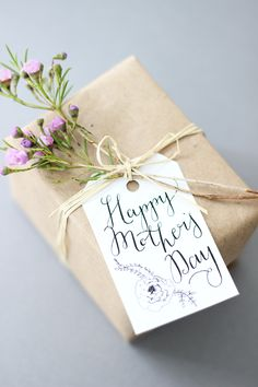 mother's day gift tags   oh the sweet things