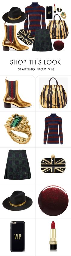 """""""Booty"""" by littlesaraha ❤ liked on Polyvore featuring Gucci, Prada, Cédric Charlier, Le Kilt, Alexander McQueen, Eugenia Kim, Jin Soon, Casetify, Dolce&Gabbana and Christian Dior"""