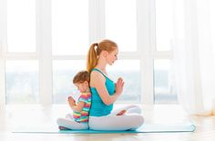 Photo about Family mother and child daughter are engaged in meditation and yoga, exercise at home. Image of active, fitness, female - 76209385 Antique Bookcase, Zen Room, Family Fitness, Bookshelves Built In, Fitness Photos, Ways To Relax, Yoga For Kids, Group Activities, Mother And Child