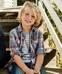 Love this Navy Marine Plaid Button-Up - Boys by Silver Jeans Co. on #zulily…