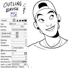JOJOmatsu @johannathemad My brush settings...Instagram photo | Websta (Webstagram)