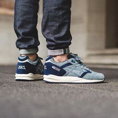 "The ""Scratch and Sniff Pack"" a brown & beige Gel-Lyte III and this dope blue Gel Saga will be available soon in a lot of shops. Pic by @titoloshop.  Tag #asicsteam for a feature. by asics_team"