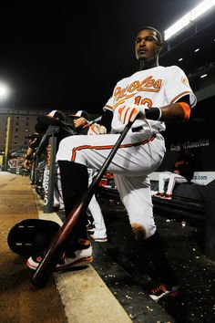 """Adam Jones - """"I'm not from Baltimore, but this is my town."""""""