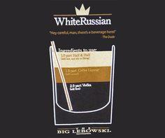 White Russian Recipe With Kahlua | White Russian Recipe