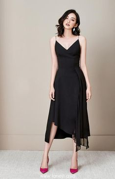 All products are designed and made by Lane JT Elegant Midi Dresses, Elegant Outfit, Classy Dress, Stylish Dresses, Simple Dresses, Casual Dresses, Short Dresses, Chic Outfits, Dress Outfits