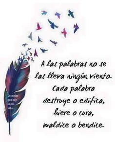 Que tus palabras sean para edificar, dulces sueños!!! ❤