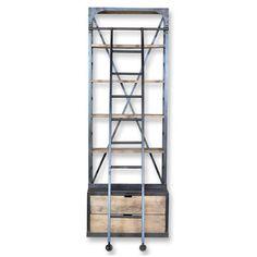 CDI Furniture: Hutch Bookshelf with Ladder, at 37% off!