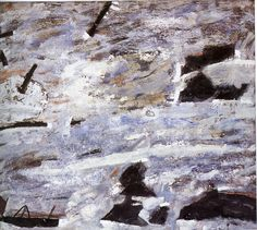 """Piotr Potworowski, 1956, """"Cornwales"""""""