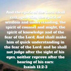 Isaiah 11:2-3