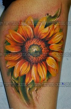 sunFlower Shoulder Tattoos for Women | Best sunflower tattoo Flowers Tattoo Designs