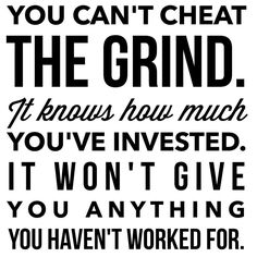 Can't cheat this lifestyle. If you don't put in the work, it will be obvious. Time Quotes, Wisdom Quotes, Quotes To Live By, Hard Work Quotes, Work Hard, Volleyball Motivation, Fitness Motivation, Grant Cardone Quotes, Mindset Quotes Positive