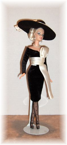 83bdb77b227 Haute Couture 1950 s fashion by the late Willem van der Leer. Barbie  Costume