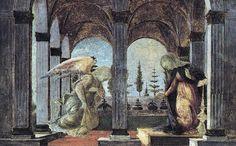 Annunciation ~ Sandro Boticelli