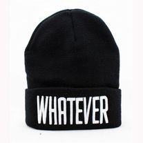 2526e8d3848 Products · Whatever beanies · New Great Wall s Store Admin Black Beanie