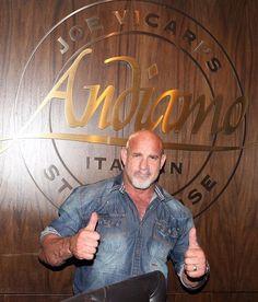 Bill Goldberg dines at Andiamo Italian Steakhouse Las Vegas  WWE's Legendary Goldberg Dines at Andiamo Italian Steakhouse and Stays at Golden Gate Hotel and Casino (Photo credit: the D Casino Hotel).
