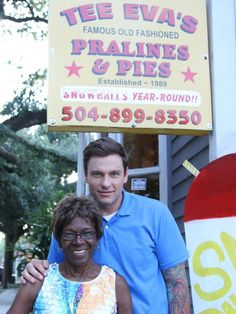 Keonna Perry of Tee-Eva's Old Fashioned Pies and Pralines is first lady to pies and pralines. She sells authentic Creole recipes like crawfish pie, as well as killer pralines.