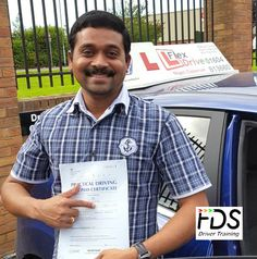 Congratulations to Siva who passed his practical Driving Test on the 30th September 2016. Very well done and best wishes from your Driving Instructor Nigel and all of us here at Flexdrive Driving School.  Siva had driving lessons in Northampton with Flexdrive Driving School. #drivinglessons #learntodrive #northampton