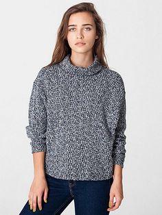 Cowl Neck Sweater | American Apparel