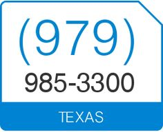 US Local Phone Number HURT California Area Code - Area code 979