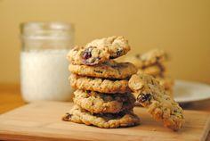 Cranberry Oatmeal Cookies via @Jen @ Juanita's Cocina