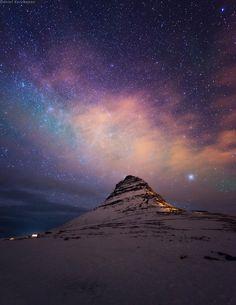 Kirkjufell Starshine (by Daniel Kordan)